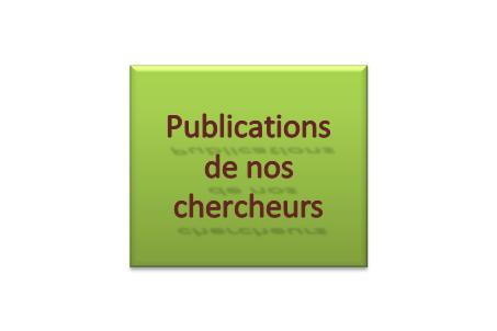 Publications de nos chercheurs