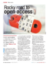 Rocky road to open access - application/pdf