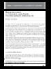 Premiers enseignements de l'utilisation - application/pdf