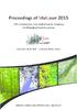 Proceedings of SilviLaser 2015 - application/pdf