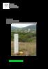 Hartebeesthoek local tie survey - application/pdf