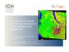 L'occupation et l'usage des sols par télédétection - diaporama de présentation - application/pdf